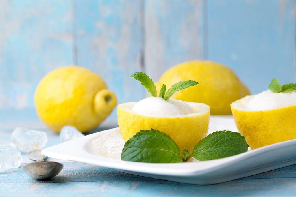 Marina di Grosseto Ristorante Pizzeria Curiosita sul Gelato il sorbetto al limone